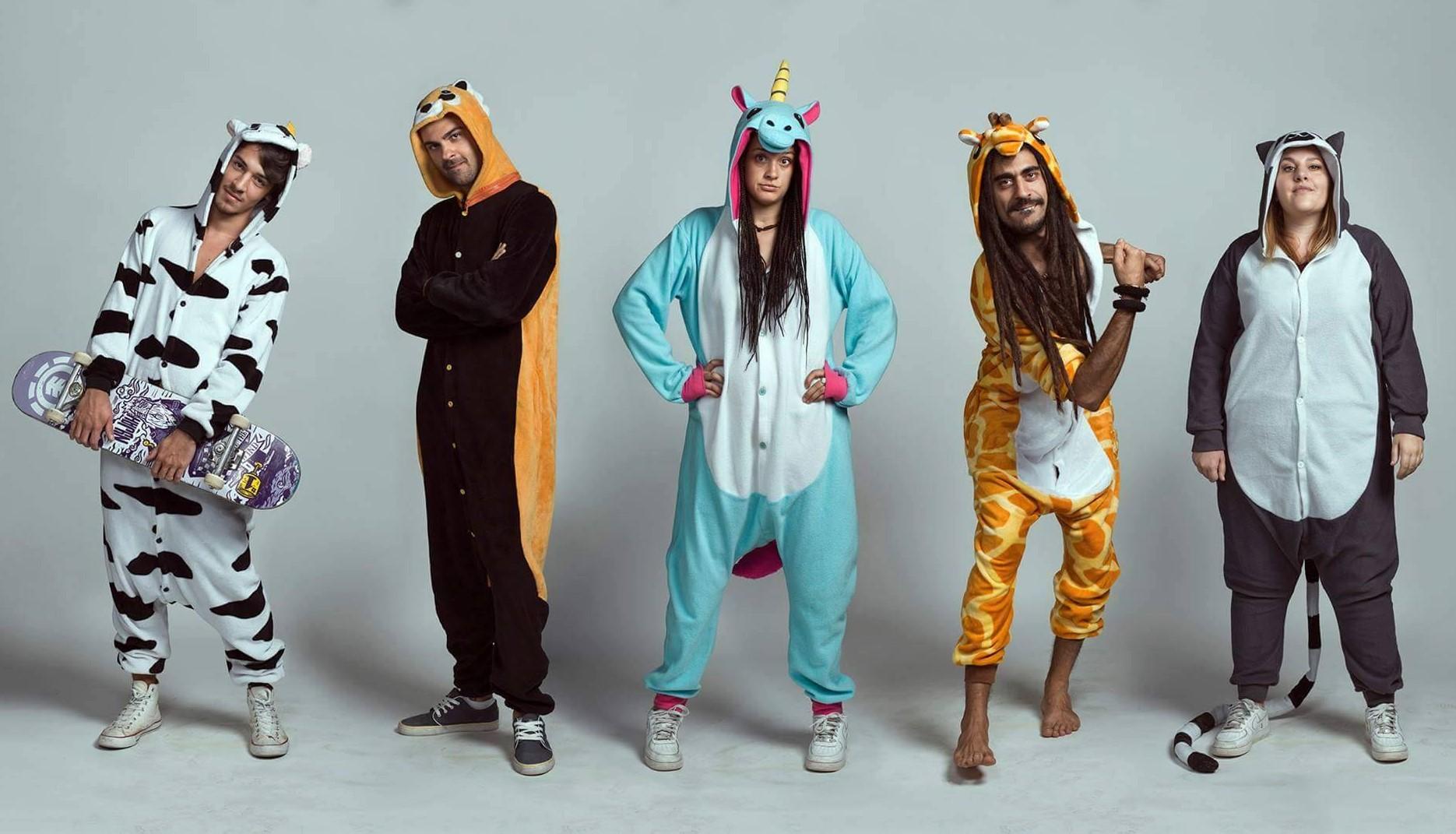 0b549e7ffdda5 Ca h Machine è il titolo del primo album della band toscana pijamaparty