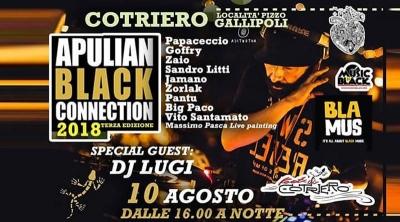 Apulian Black Connection: il 10 agosto ci sarà la terza edizione con DJ LUGI