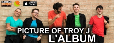 Arriva l'esplosivo pop rock dei Picture Of Troy J: la band umbra al debutto discografico con il suo omonimo debut album.