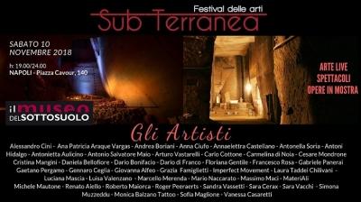 SubTerranea, arti in rassegna al Museo del Sottosuolo di Napoli dal 10 novembre