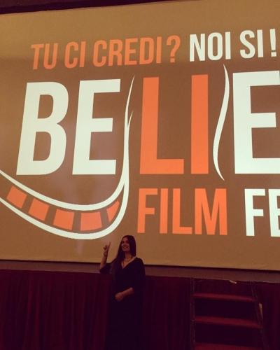 OSPITE AL BELIEVE FILM FESTIVAL LA CANTANTE IDA ELENA DE RAZZA