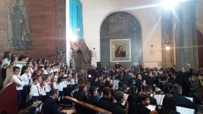 """Alla Basilica di """"San Sossio Levita e Martire con il I° Concerto per Durante continua il grande successo della rassegna """"Durante Natale Festival 2018."""