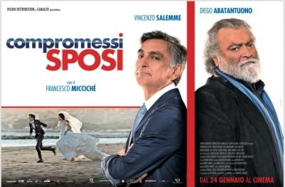 IL CAST DEL FILM '' COMPROMESSI SPOSI '' ALL'UCI CINEMAS DI PARCO LEONARDO