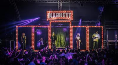Napoli: Markett ospita i personaggi diventati leggenda