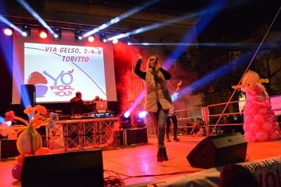 Kim Lukas e Regina scatenate sul palco del Carnevale 2019 a Toritto in Puglia