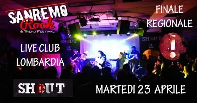 32° Sanremo Rock: 5° girone selezioni Lombardia