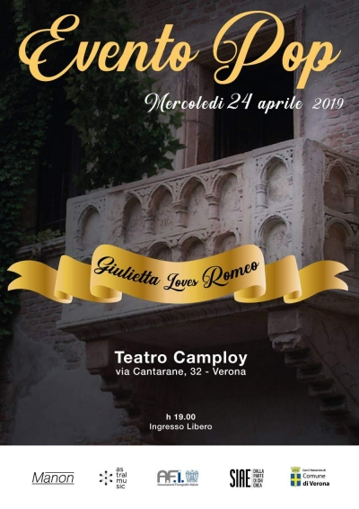 """Grande attesa a Verona per l'evento canoro""""GIULIETTA LOVES ROMEO"""" ideato dal produttore musicale Angelo Valsiglio."""