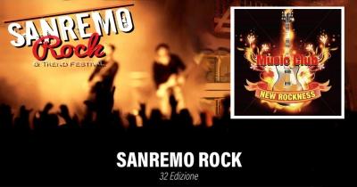 32° SANREMO ROCK & TREND FESTIVAL   Domenica 5 maggio h 20 @ New Rockness (Genzano di Roma)