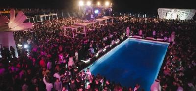L'inizio supremo al Kami Beach: l'opening  party che tutti aspettavano