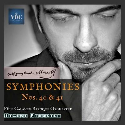 Una nuova registrazione discografica delle ultime due sinfonie di Mozart