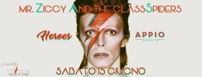 Heroes al Parco Appio, sabato 15 giugno c'è il tributo a David Bowie
