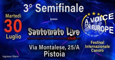 A Voice for Europe/Italia: a Pistoia la 3^ tappa di semifinale