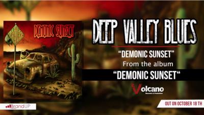 Demonic Sunset, il primo singolo dei Deep Valley Blues