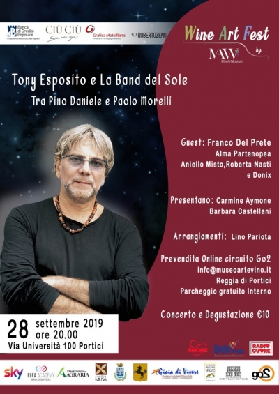 Wine Art Fest: musica e vino a Portici