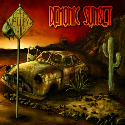 """Demonic Sunset"", il primo full-lenght album dei Deep Valley Blues è finalmente disponibile!"