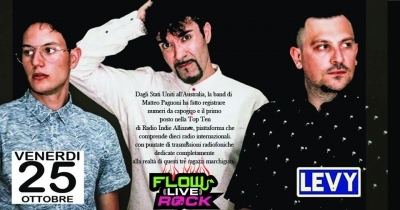 25 Ottobre: I LevY protagonisti al Florentia Rock live