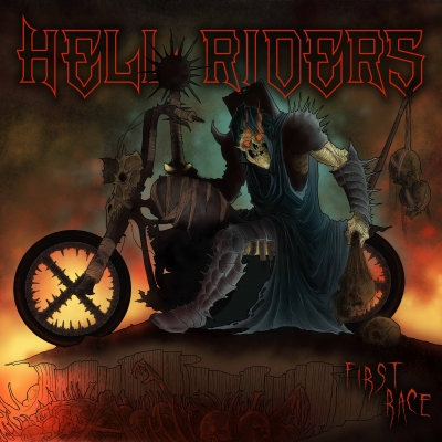 """First Race"", il disco d'esordio degli Hell Riders è ora disponibile!"