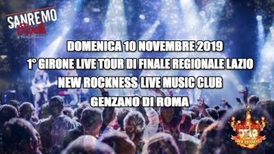 33° Sanremo Rock, domenica il 1° girone di finale regionale Lazio