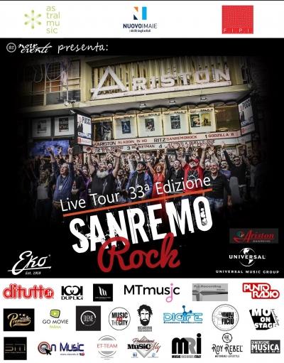33° Sanremo Rock, 15 e 18 dicembre selezioni Lazio e Lombardia