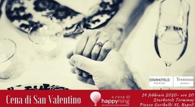 Musica e buon cibo nella cena di San Valentino sulla terrazza del Terminus Hotel a Napoli