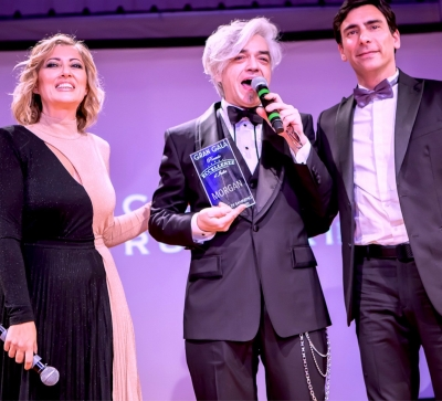 Sanremo, Morgan: un premio prima della bufera all'Ariston