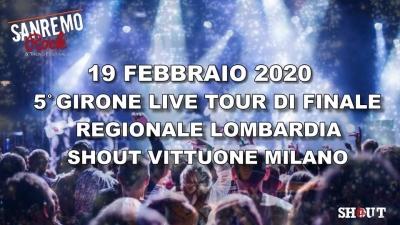 33° Sanremo Rock, 5° girone finali regionali Lombardia