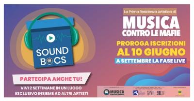 SOUND BOCS La prima Music Farm a sfondo civile di Musica contro le mafie non si ferma