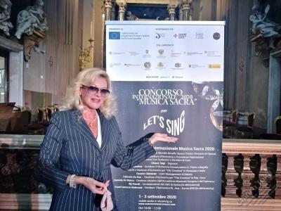CHIARA TAIGI Giurato Concorso Internazionale Musica Sacra 2020 - XV edizione - Roma 1-4 settembre 2020