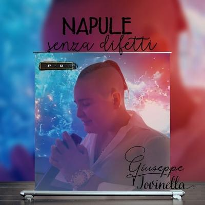 """E' online """"Napule senza difetti"""", il primo singolo ufficiale di Giuseppe Iovinella in arte P-8"""