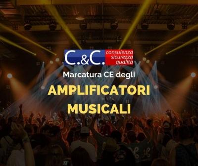 Marcatura CE degli amplificatori musicali