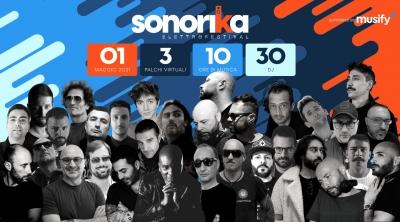 Sonorika ElettroFestival, 30 dj per 10 ore di musica live
