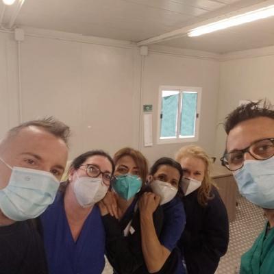 Simone Barotti, vaccinato alla ASL Roma 3 di Via di Villa Cilone a Roma, ringrazia con un post su Instagram