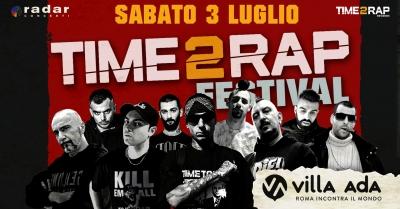 """""""Time 2 Rap Festival"""", a Villa Ada il rap incontra il metal"""