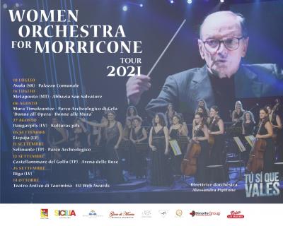 La Women Orchestra vola ad Io Talent Europe in Lettonia. Tutte le tappe del tour estivo
