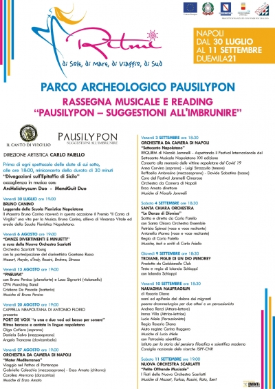 """""""Pausilypon – Suggestioni all'Imbrunire"""""""