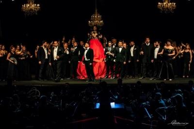 Sicilia Classica Festival premia il Soprano internazionale Desirée Rancatore al Teatro antico di Taormina il primo agosto