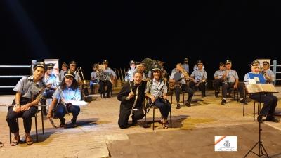 Banda Musicale P. Anfossi di Taggia 29 Agosto 2021  Dirige il  M° Vitaliano Gallo