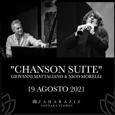 «Chanson Suite», alla Tonnara Florio di Palermo lo spettacolo musicale di Mattaliano e Morelli