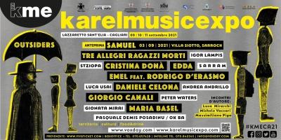 KAREL MUSIC EXPO: Dal 9 all'11 settembre torna a Cagliari il Festival delle culture resistenti. Il programma completo della 15^ edizione