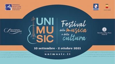 UNIMUSIC Festival. III Edizione al via il 10 settembre