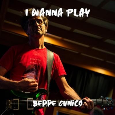 """BEPPE CUNICO """"I wanna play"""" è il nuovo singolo prog-rock  del cantautore e batterista vicentino, un inno alla buona musica"""