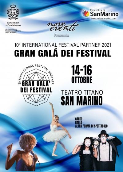 San Marino - Dal 14 al 16 ottobre l'International Festival Partner
