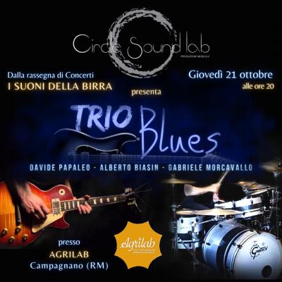 CIRCLE SOUND LAB presenta TRIO BLUES con il repertorio dei grandi chitarristi Vaughan e Hendrix